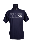 I drink and I know things